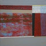 Breakwater 4 by Estella Scholes, Painting, Acrylic on canvas
