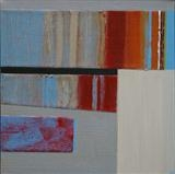 Breakwater 5 by Estella Scholes, Painting, Acrylic on canvas