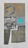 Concrete Coast 1 by Estella Scholes, Artist Print, Collagraph