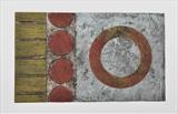 Concrete Coast no.9 2/8. VE by Estella Scholes, Artist Print, Collagraph