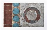 Concrete Coast no.9 5/8. VE by Estella Scholes, Artist Print, Collagraph