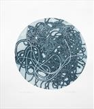 Convoluted no.3 by Estella Scholes, Artist Print, monoprint