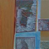 Notes from the Breakwater 2 by Estella Scholes, Painting, Acrylic on canvas