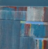 Notes from the Breakwater F by Estella Scholes, Painting, Acrylic on canvas