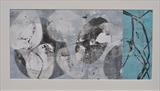 Stone-Washed 8 by Estella Scholes, Artist Print, Monoprint collage